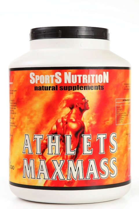 Athlets Maxmass – Carbohydrate Protein Shake