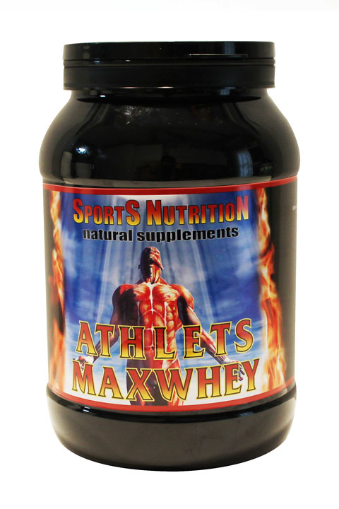 Athlets Maxwhey – 100 % Whey Protein Isolate